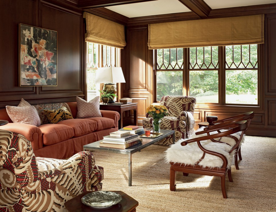 Desain Interior Rumah Mewah 1 Lantai  7 ide dekorasi batik untuk interior rumah etnik bramble