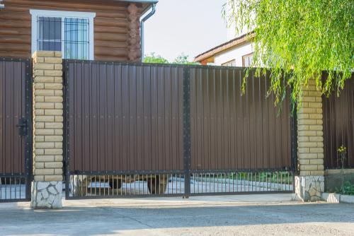 Model Pagar Rumah Minimalis Warna Putih  9 inspirasi pagar rumah minimalis dan modern