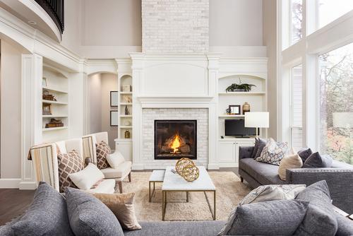 Ruang Keluarga dengan Furniture Nyaman