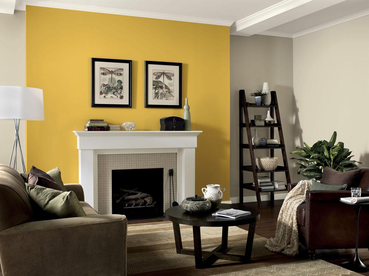 Dinding Mustard Interior