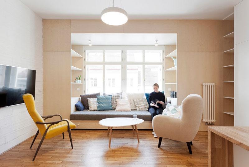 interior dengan furniture built in