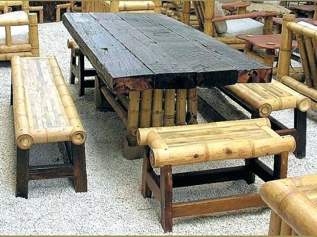 Furniture Bambu Plus Minus Dan Cara Merawat