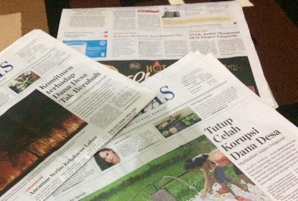 Tidak Menggunakan Koran untuk Alas Lemari
