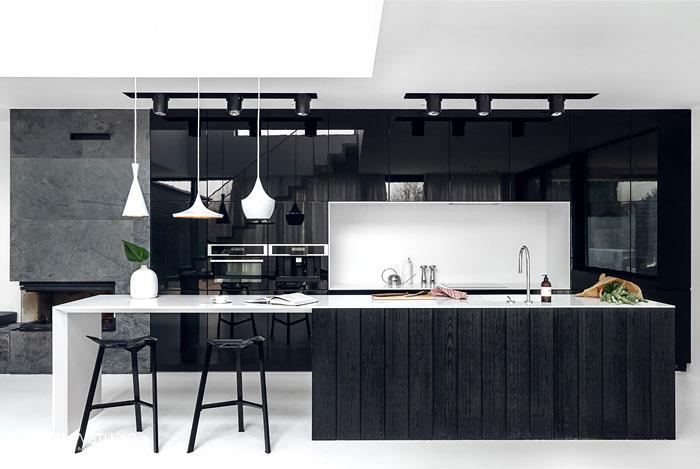 dapur dengan ciri minimalis