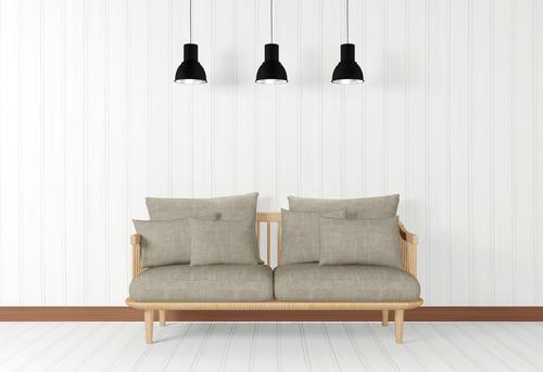 Sofa Ruang Tamu dari Rangka Kayu