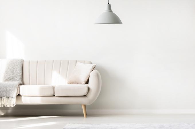 jenis sofa berkaki tinggi