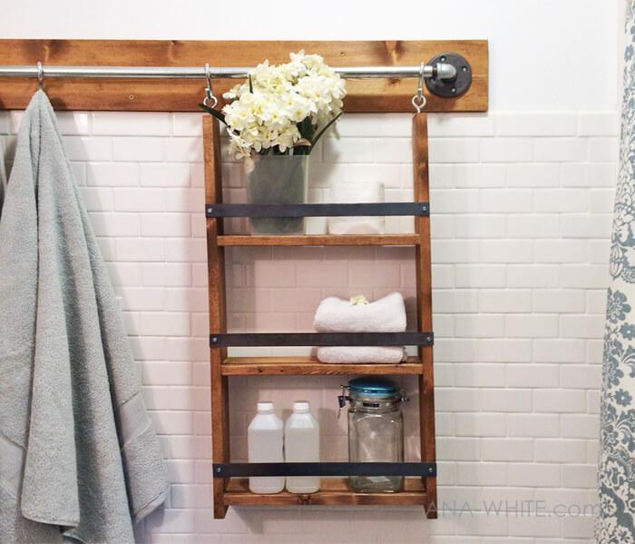 gantung perlengkapan mandi
