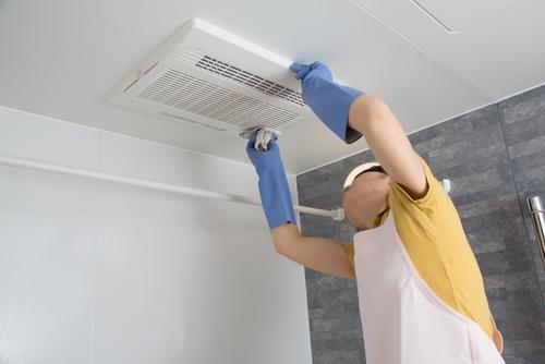 Bersihkan Debu Exhaust Fan
