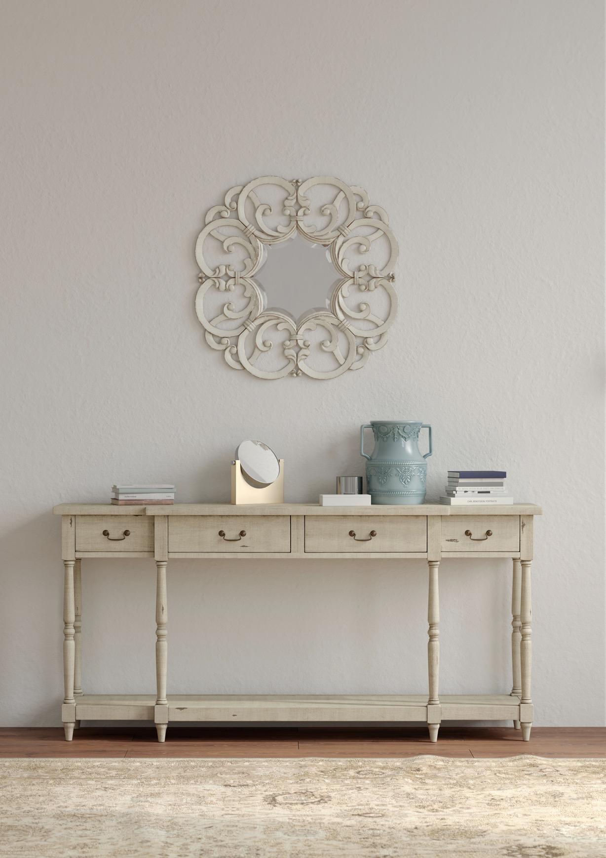 meja nakas bramble furniture