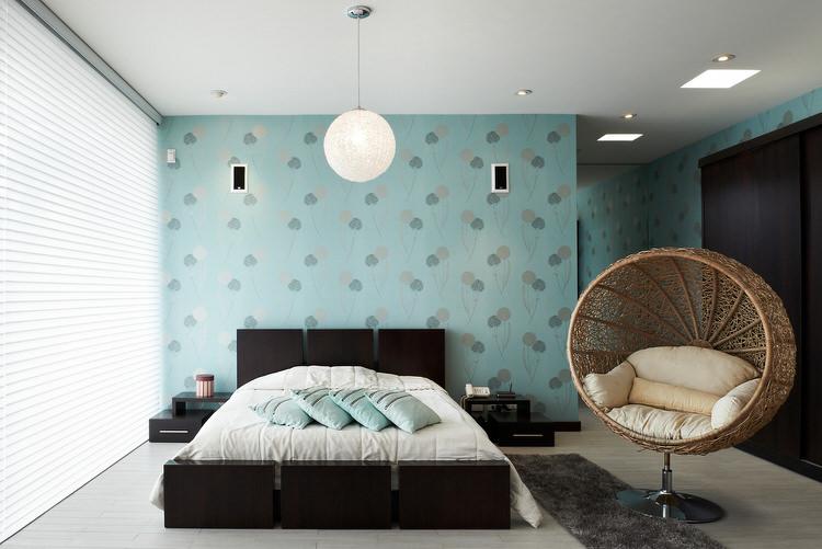 kamar tidur warna pastel