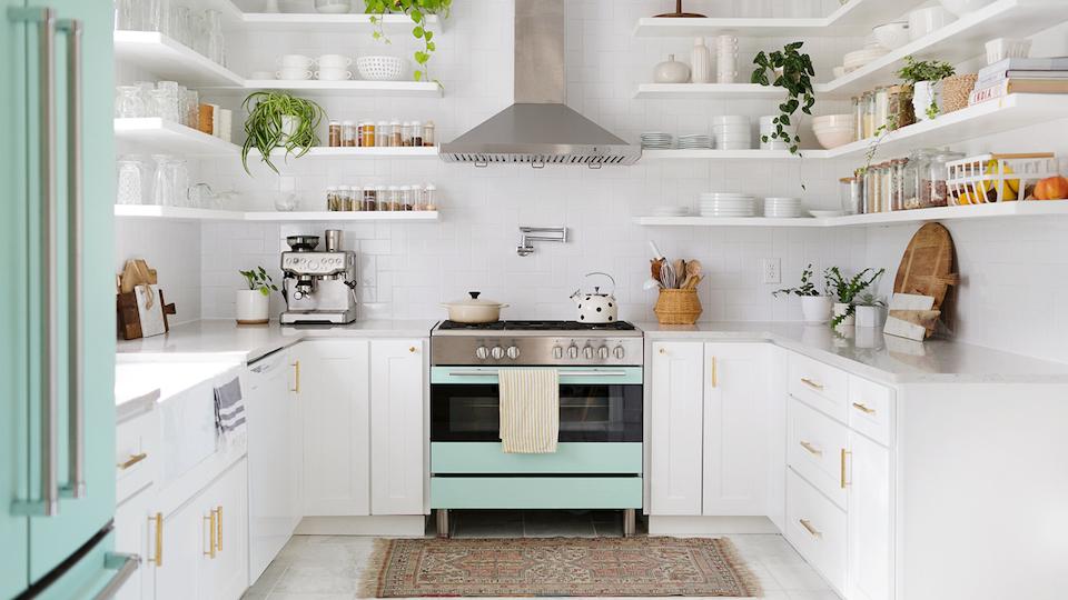 decluttering di rumah dan dapur kecil minimalis