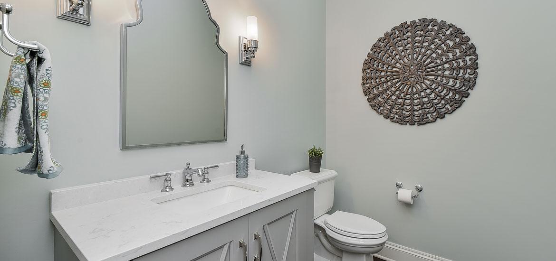 wastafel toilet modern