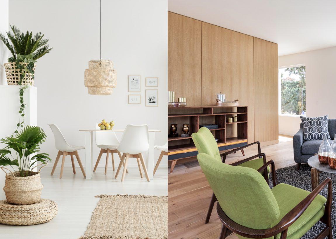 Desain Interior Mid-century vs Skandinavia