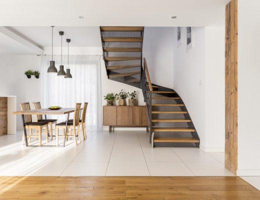Tipe Desain Tangga Rumah yang Minimalis