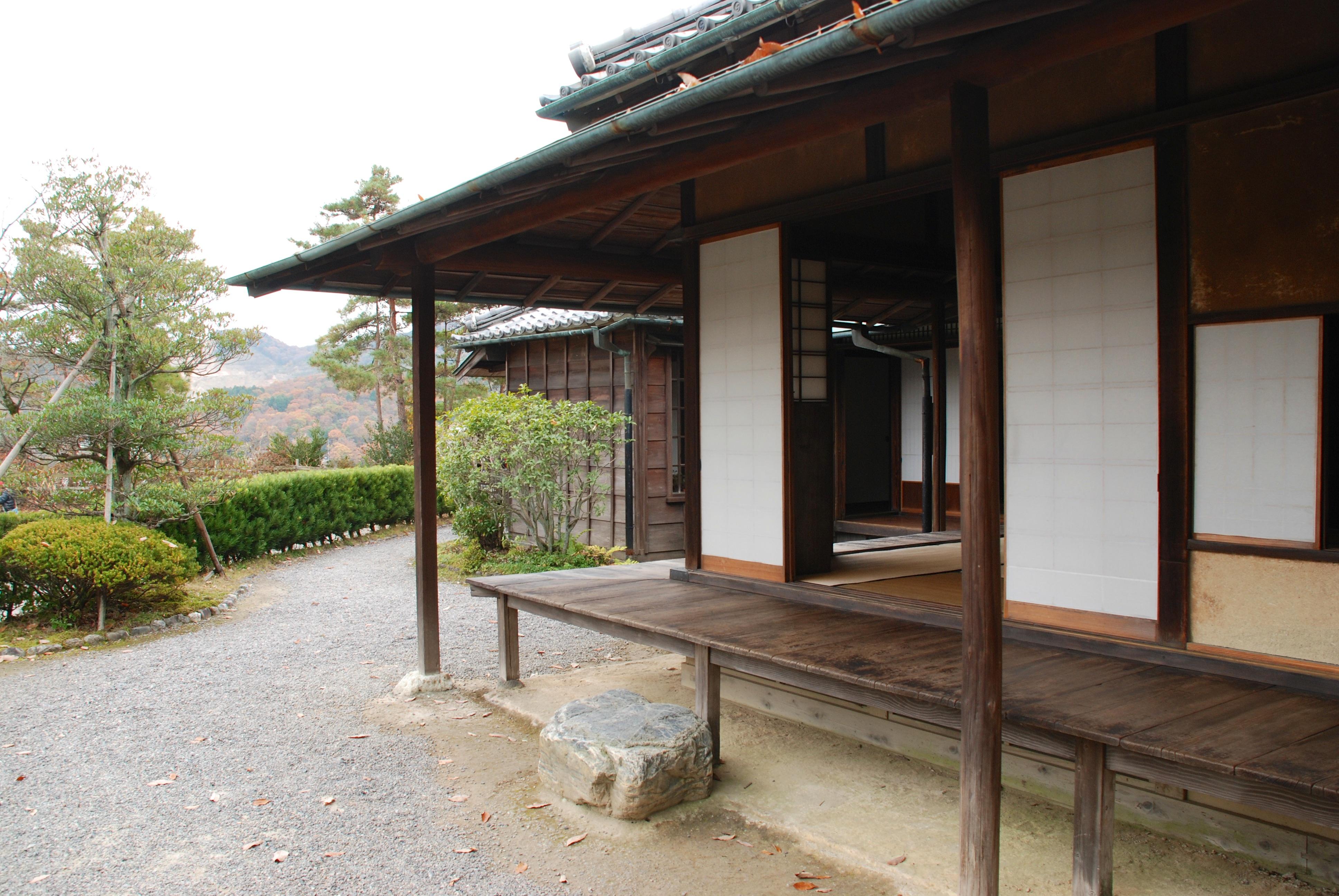 Engawa di rumah tradisional Jepang