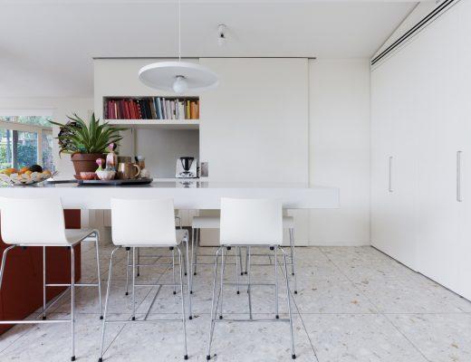 Lantai Teraso untuk Interior Ruang Keluarga