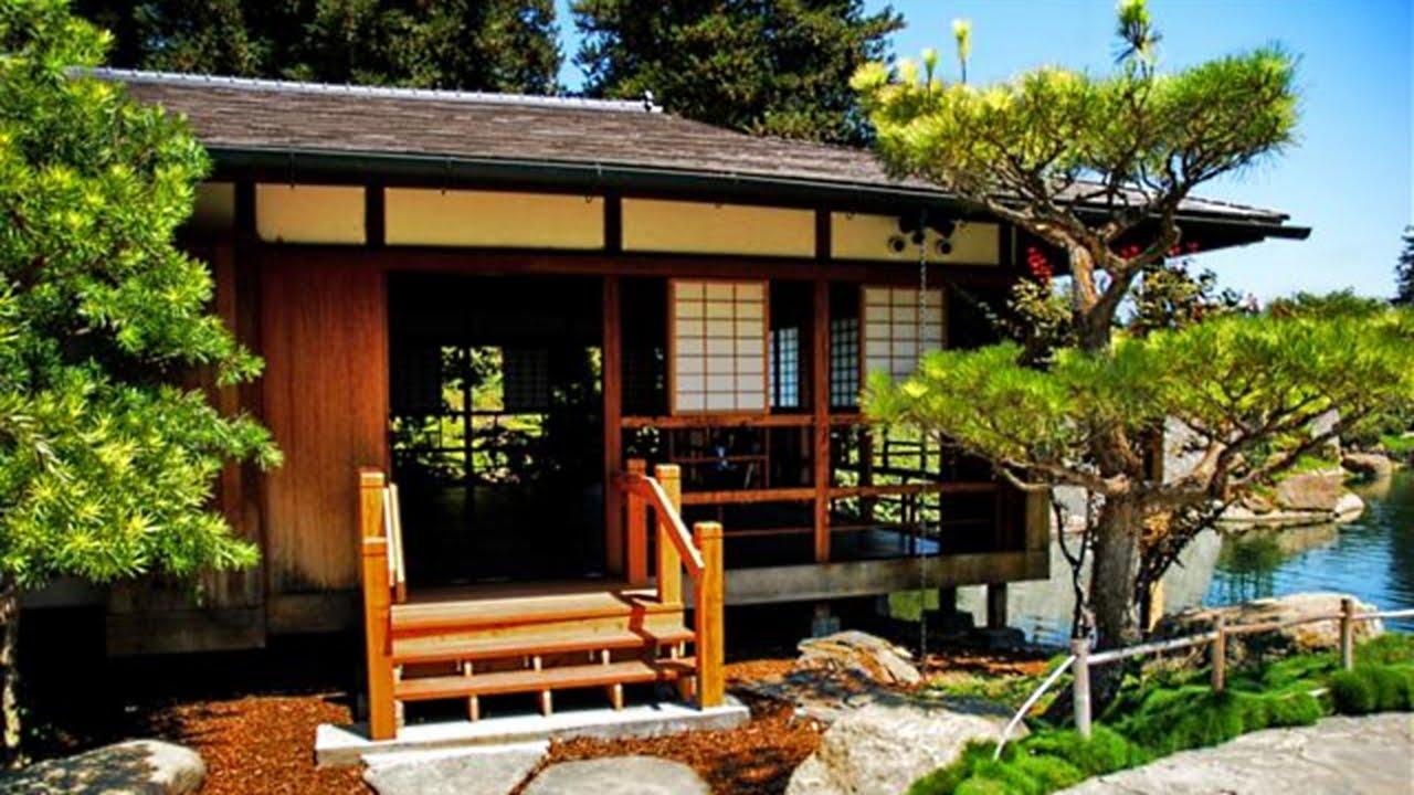 elemen kayu yang kental di rumah tradisional Jepang