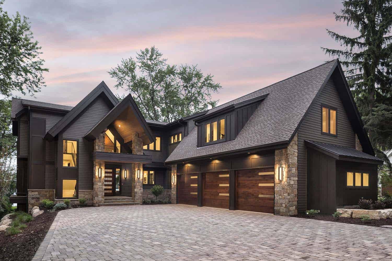 fasad rumah rustic