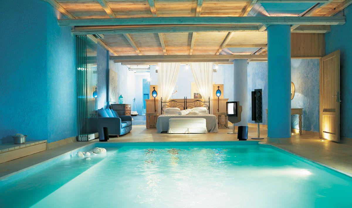 kolam renang kamar tidur
