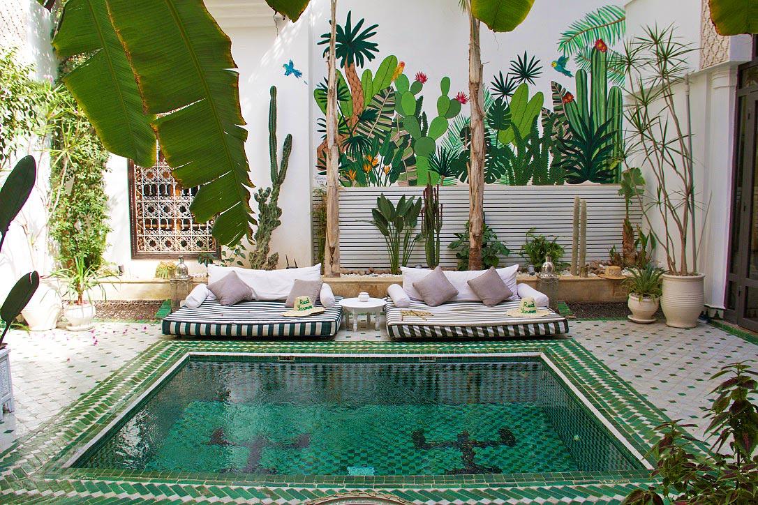 kolam renang khas moroko