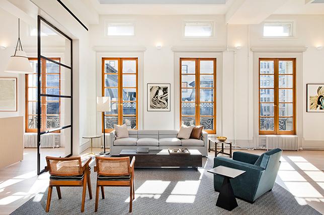 pencahayaan alami ruangan desain kontemporer