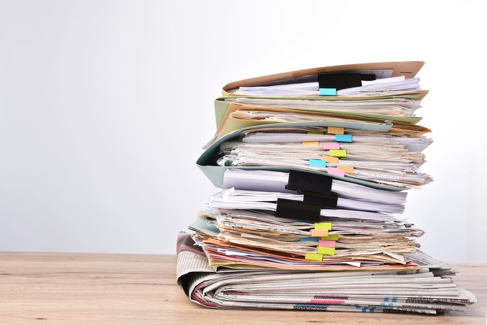 tumpukan dokumen