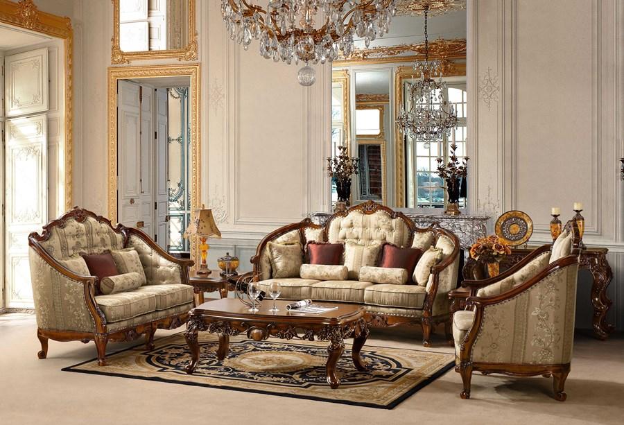 interior ruang tamu klasik