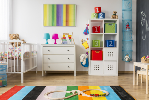 Kamar Anak dengan Lemari dan Laci Minimalis