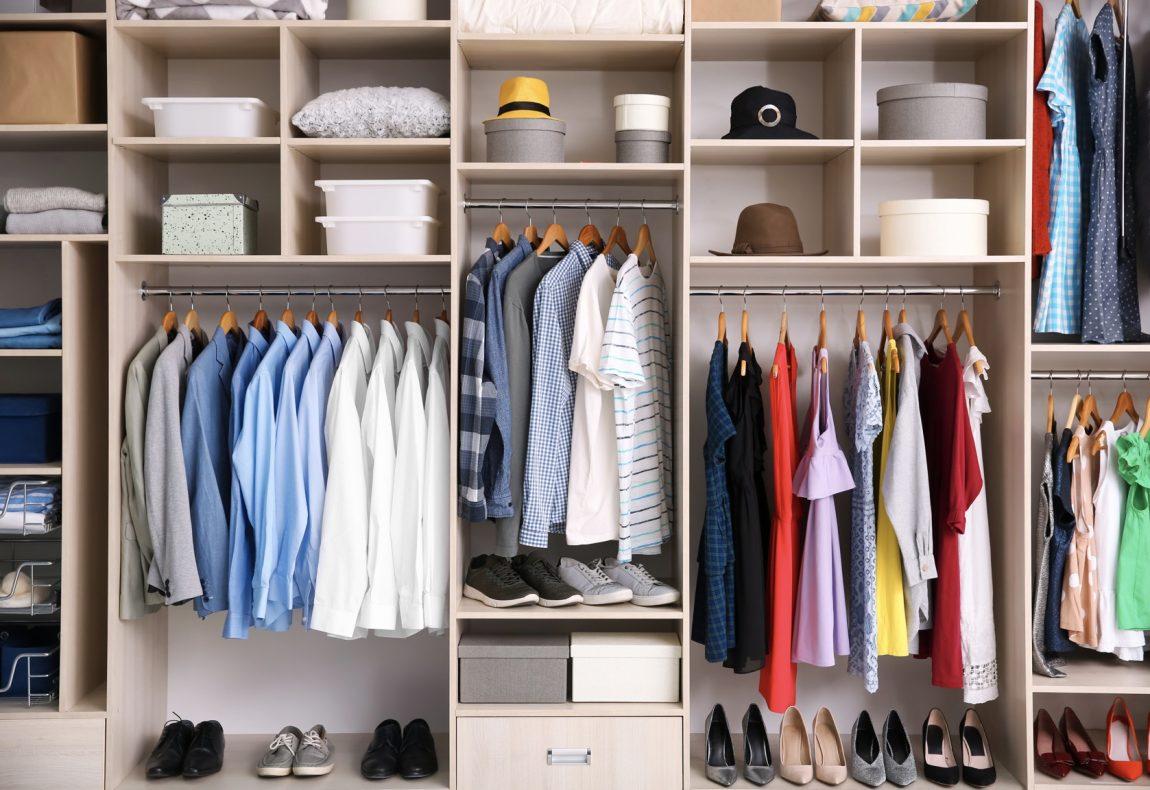Cara Merapikan Lemari Pakaian dengan Praktis