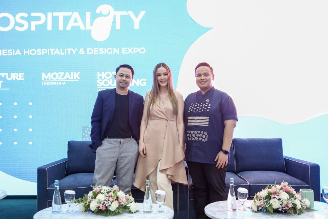 Talkshow Behind The Lobby by Bramble Furniture di Hospitality Indonesia 2019