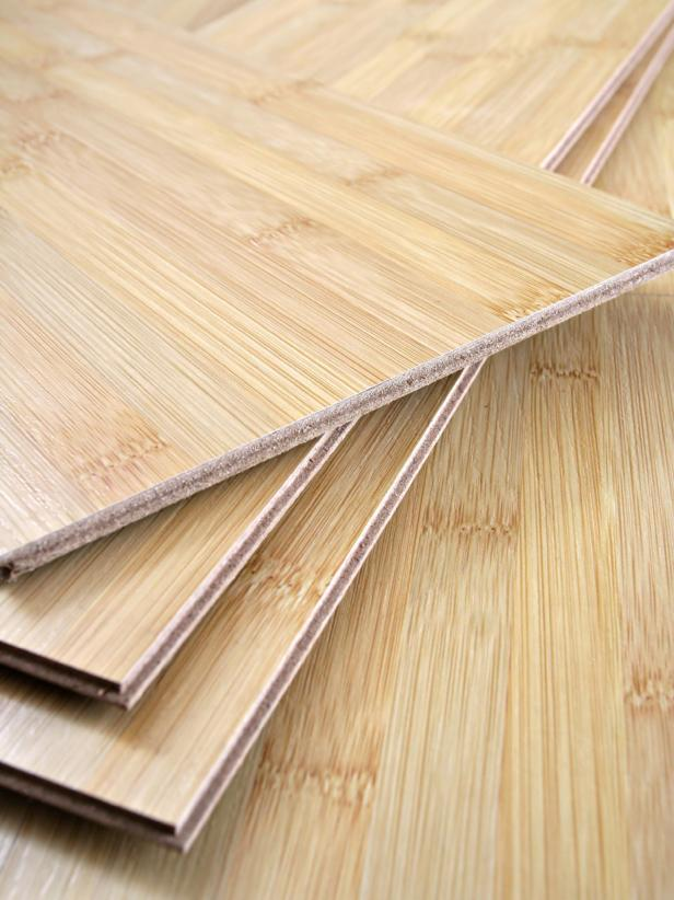 lantai bambu dengan proses alami