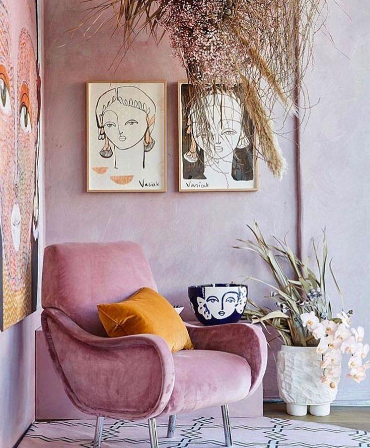 warna retro dusty pink - Kembali Hits, Ini dia Warna Retro Pilihan untuk Rumah