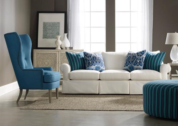 sofa dan kursi berciri american style