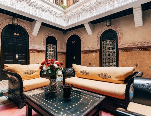 Gaya Arsitektur Maroko yang Eksotis