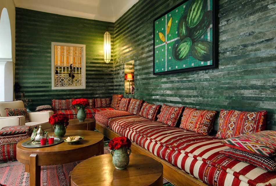 furniture bergaya arab - Ciri Gaya Desain Arsitektur Maroko yang Eksotis