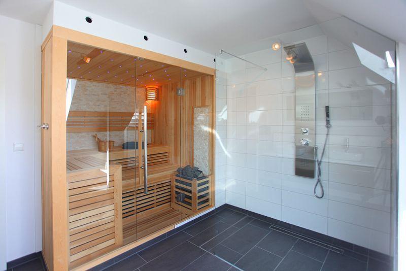 Lengkapi dengan sauna