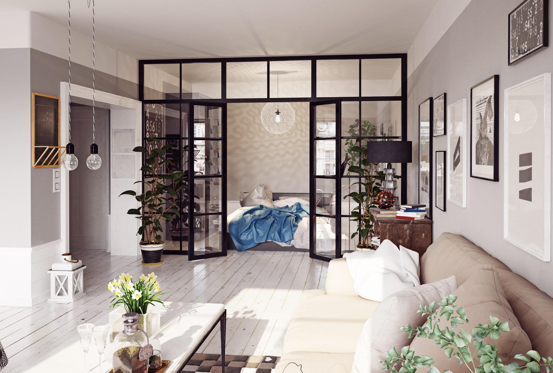 5 Sekat Ruangan Kreatif untuk Rumah Minimalis
