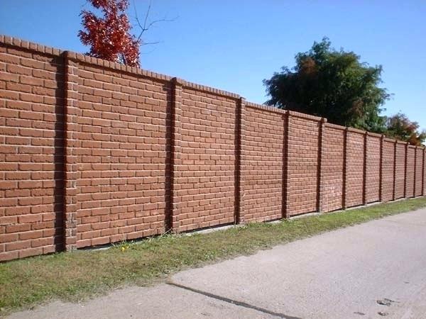 jenis pagar rumah batu bata