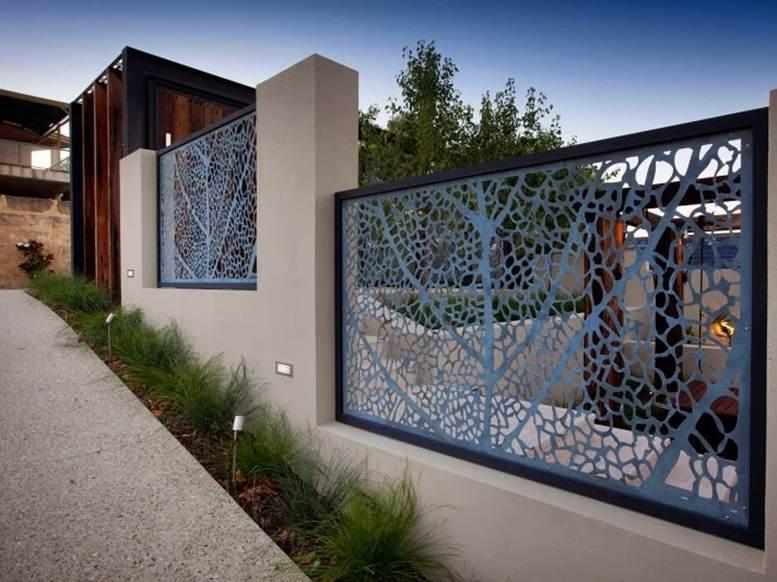jenis pagar rumah kombinasi