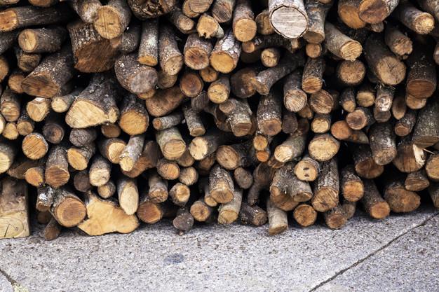 mencegah ular masuk rumah tumpukan kayu