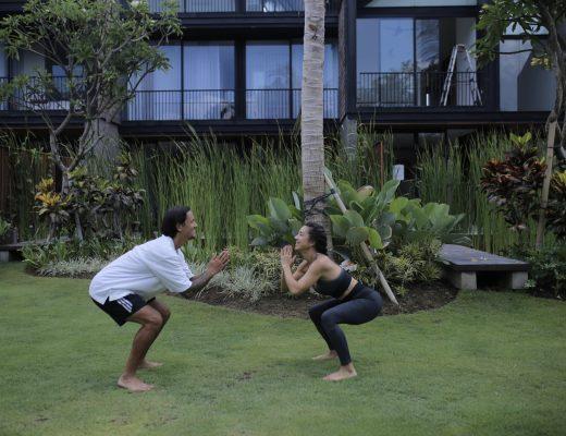 Rumah Baru Irfan dan Jennifer Bachdim di Bali