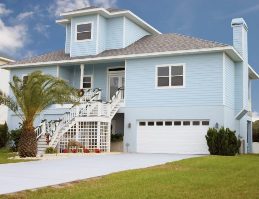 Rumah dengan Gaya Desain Coastal