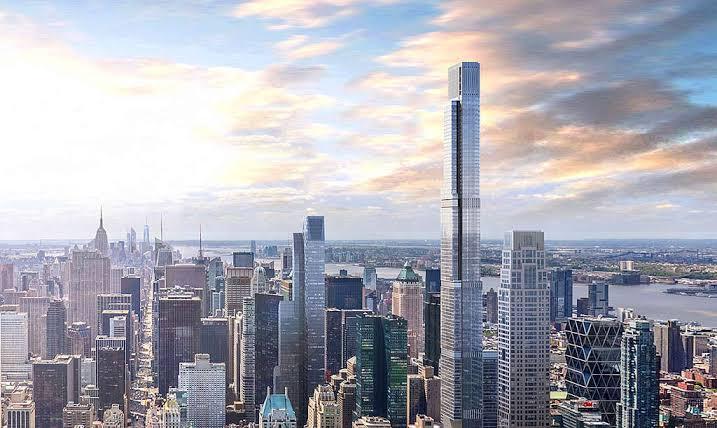 bangunan keren di 2020 central park tower