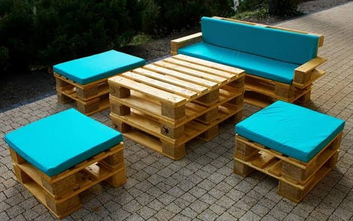 2.wood furniture pallets -