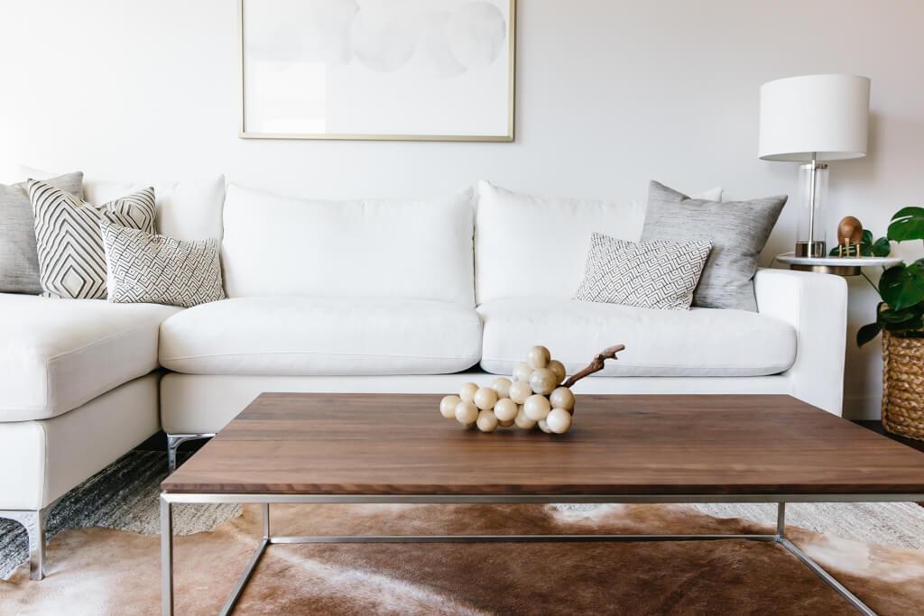 Furniture Minimalis Ruang Tamu sofa