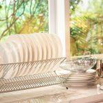 5 Jenis & Model Rak Piring untuk Melengkapi Dapur Rumah