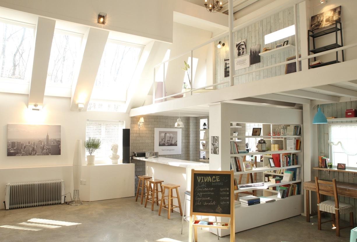 Mezzanine ide desain apartemen korea