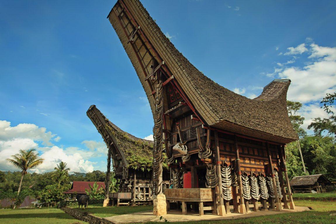 Rumah Adat Sulawesi Selatan Toraja Bernama Tongkonan