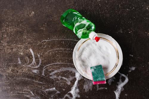Cara Menghilangkan Lumut di Rumah dengan Sabun Cuci Piring