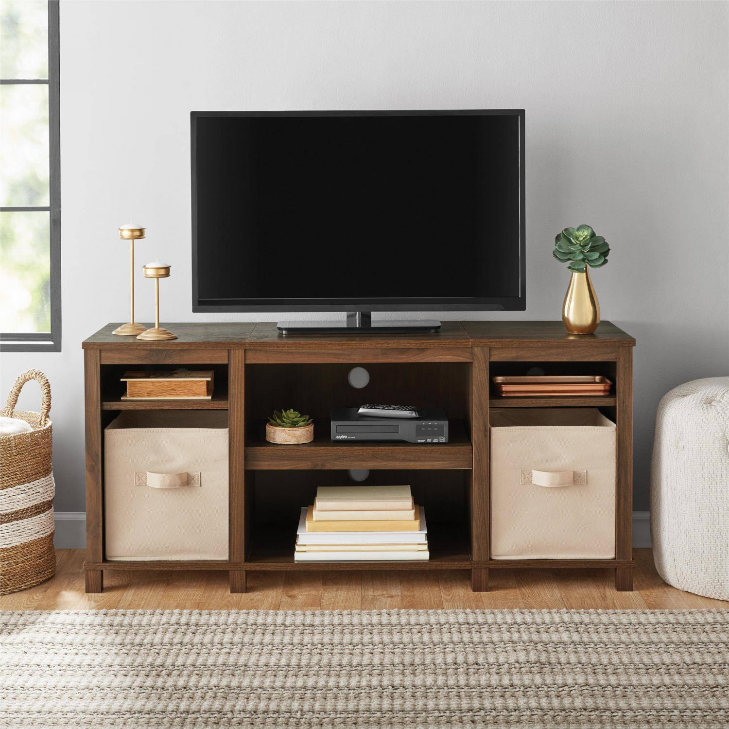 type of TV table from wood